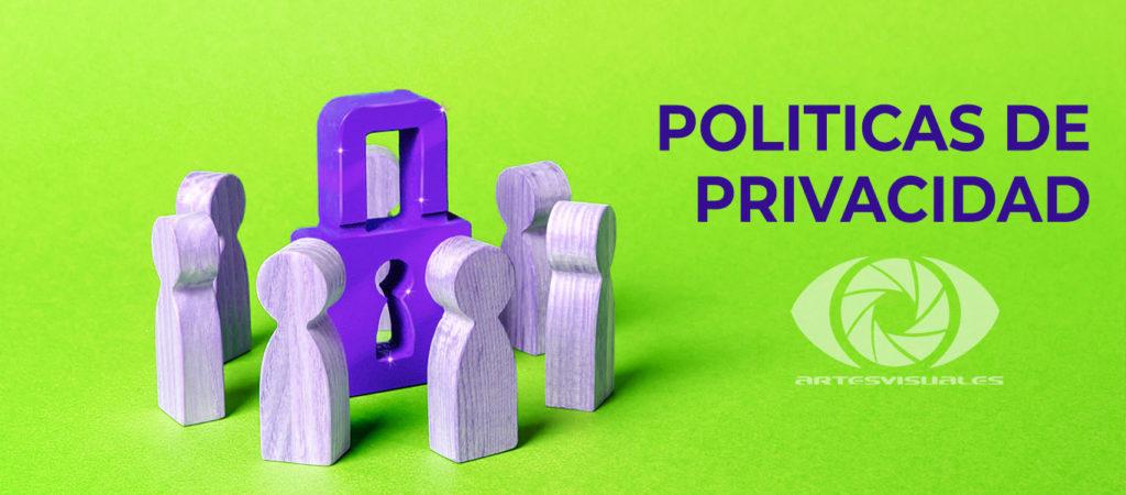 politica de privacidad Artes Visuales Pereira Agencia de Publicidad