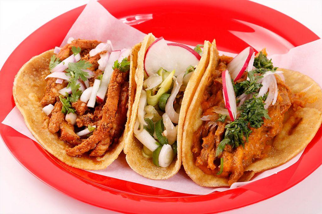 Fotografia de productos para comida mexicana